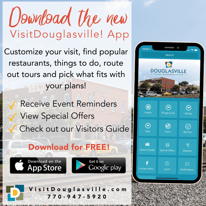 Douglasville App CVB Website
