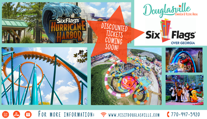2018 Six Flags Tickets available soon!