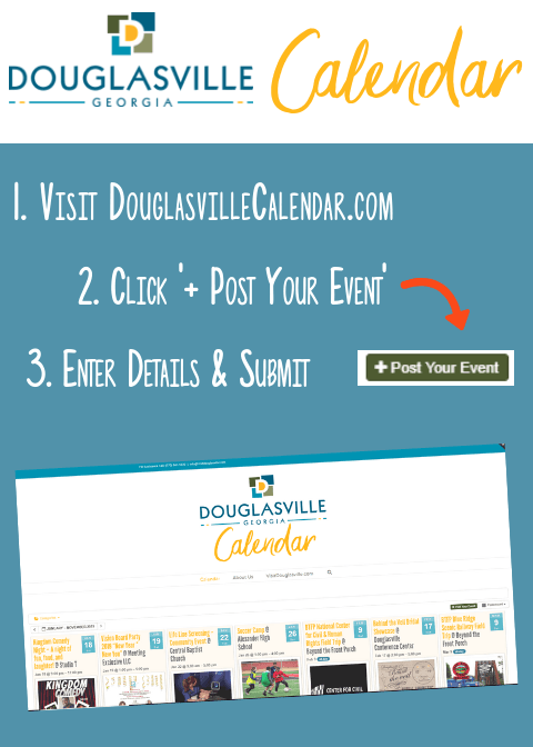 Copy of Douglasville Calendar Flyer