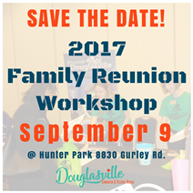 Family Reunion Workshop