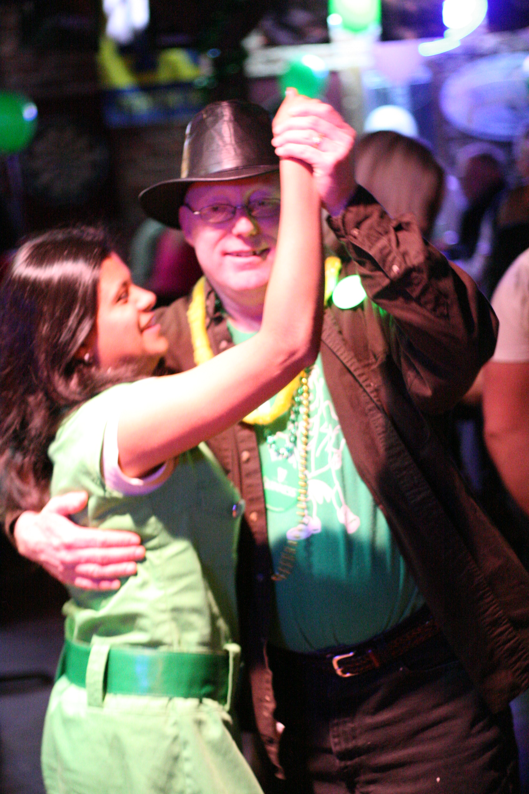 St. Patrick's Day dancing